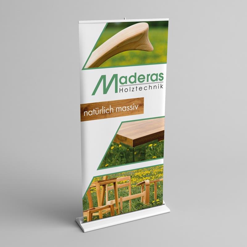 Roll-Up von Maderas Holztechnik